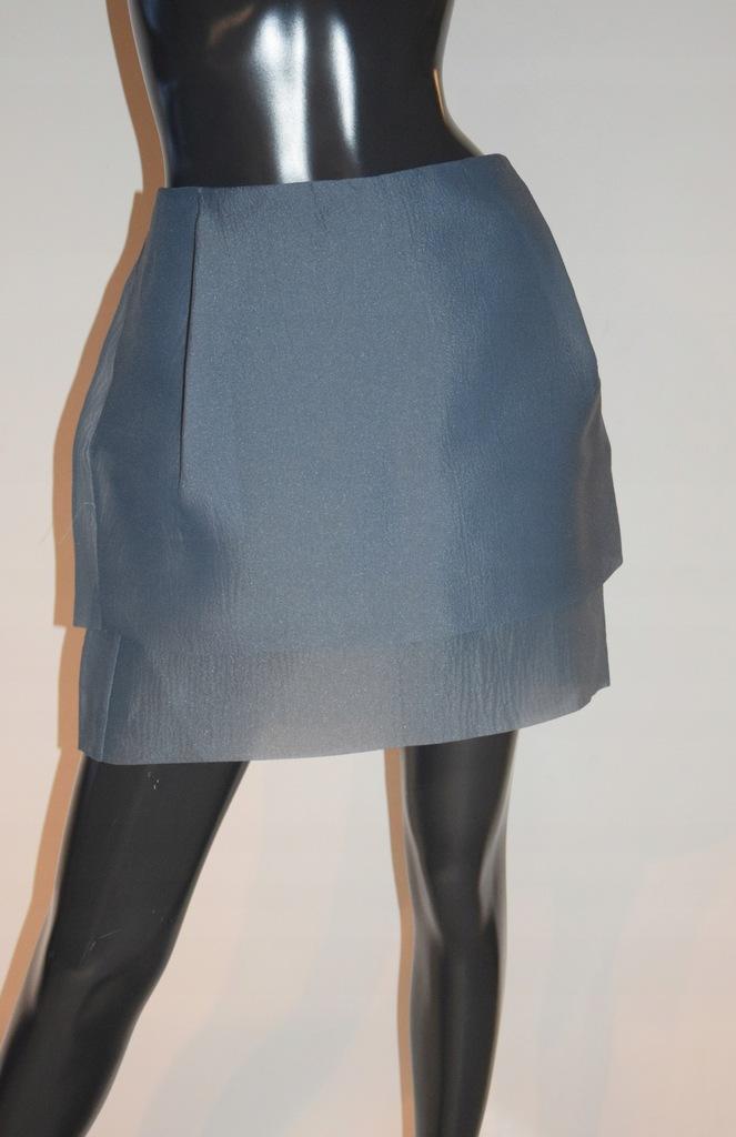 cos niebieska spódnica kieszenie r.40/38
