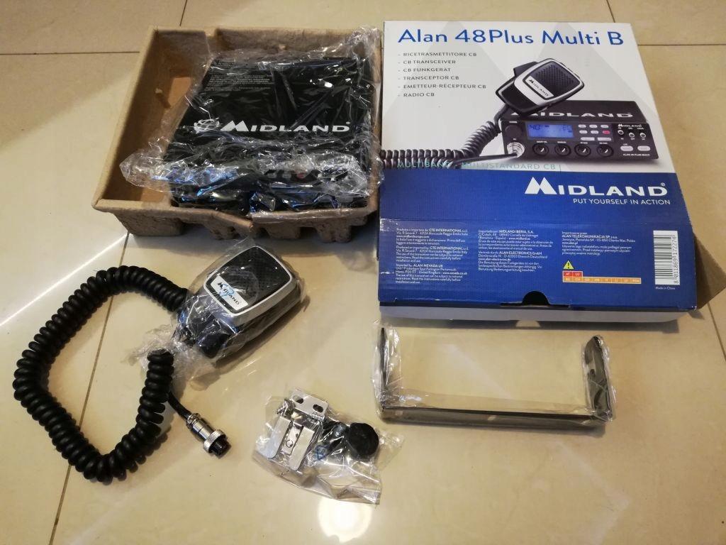 CB radio Alan 48 plus multi B