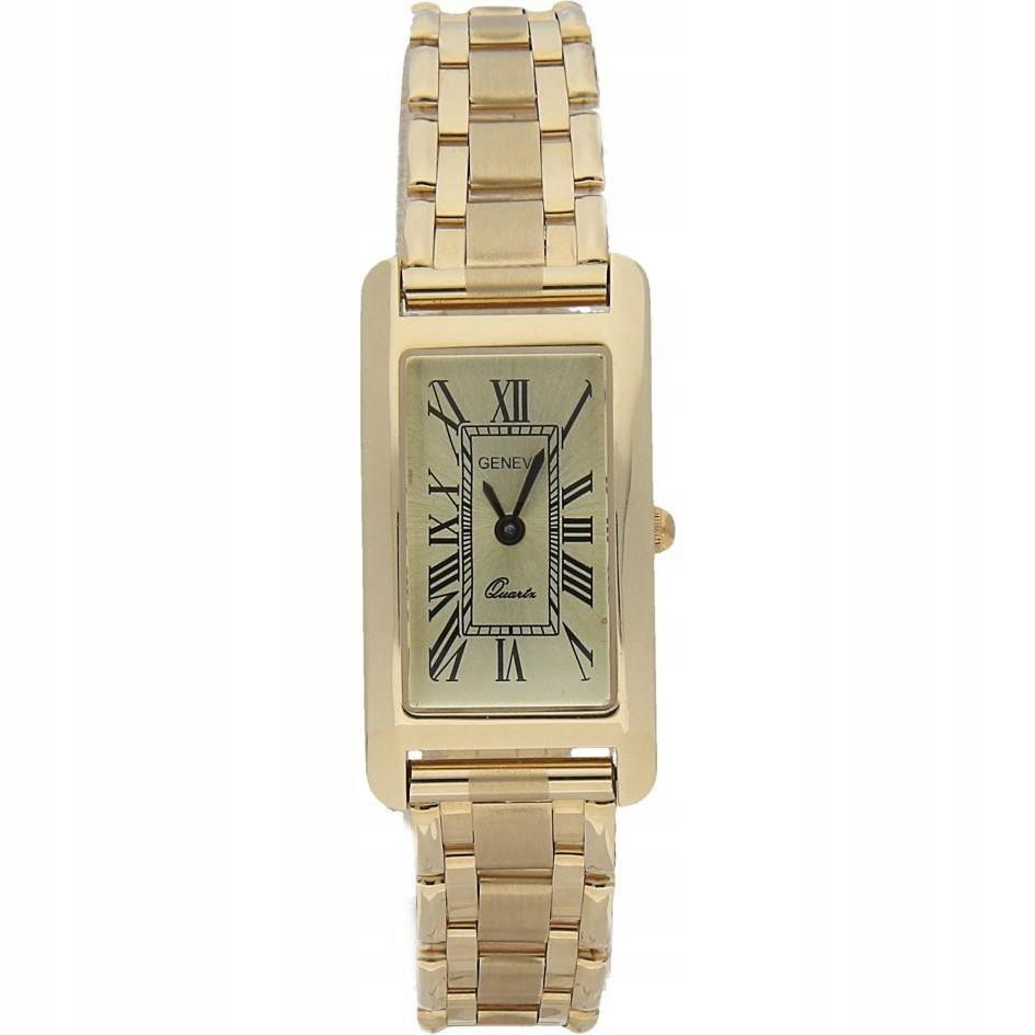 Zegarek damski Geneve 585 Złoty+Grawer +GRATIS