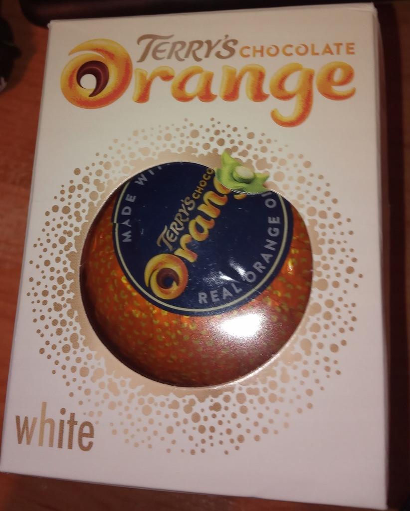 Terry's chocolate orange white prosto ze Stanów