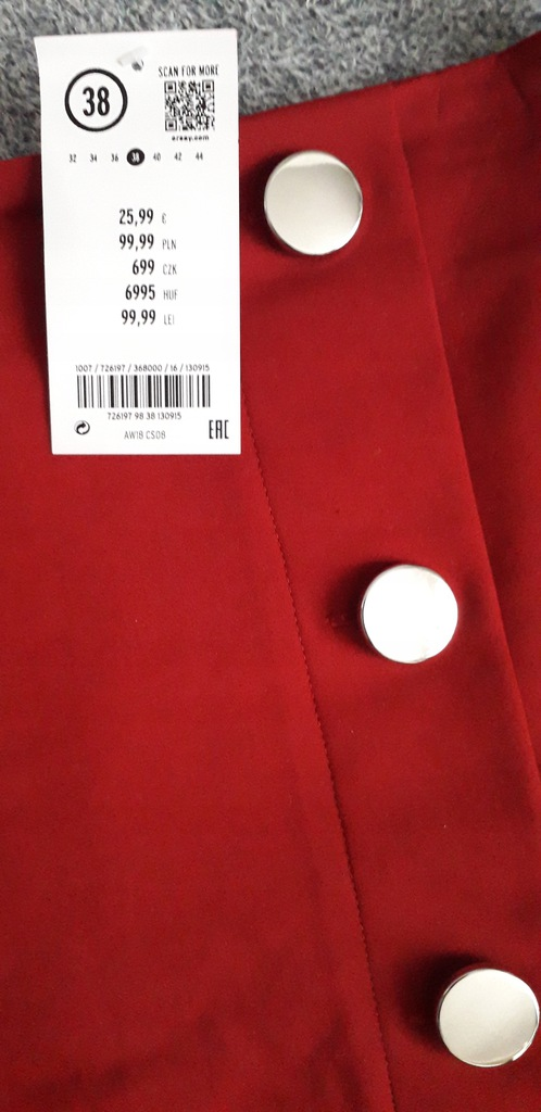 Spódnica trapezowa orsay 38 7938215376 oficjalne