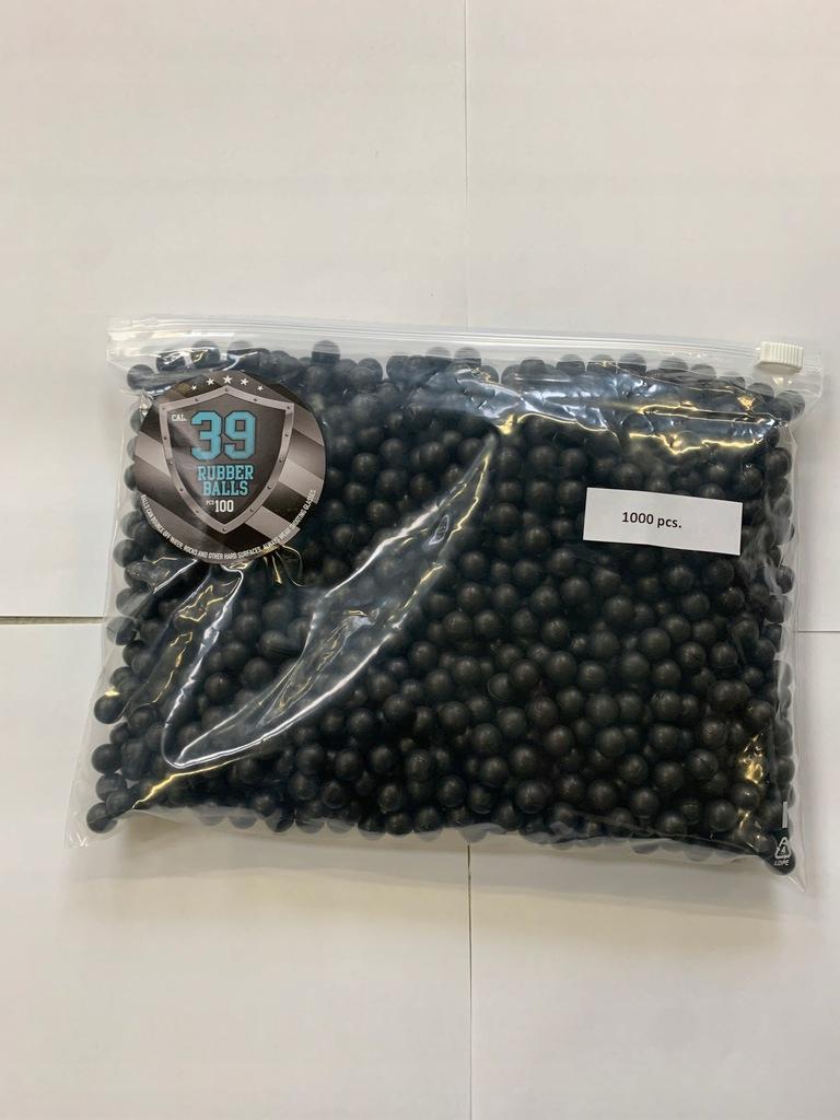Kule gumowe - Rubber balls .39 cal