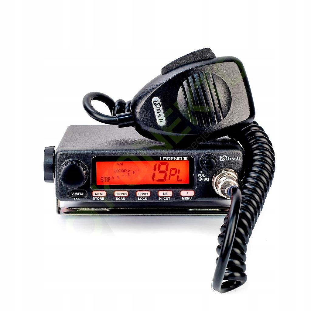 M Tech Legend Iii Tuning Konektor Cb Radio 7688648997 Oficjalne Archiwum Allegro