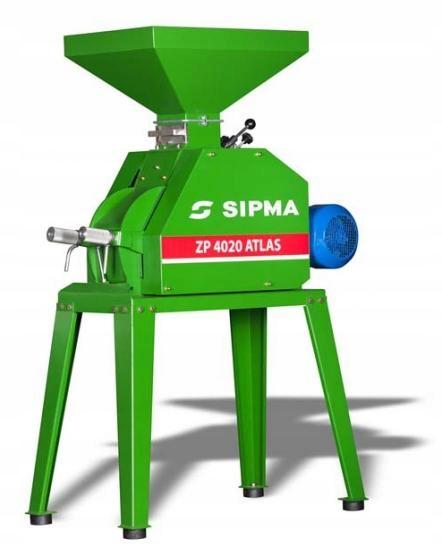 Gniotownik zgniatacz ziarna SIPMA ZP 7530 ATLAS