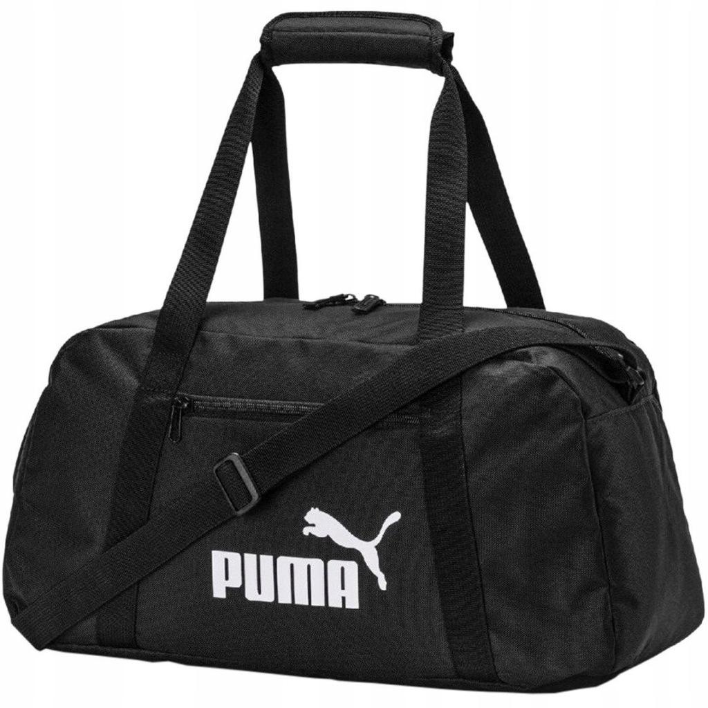 Torba Puma Phase Sports 075722 01 czarna