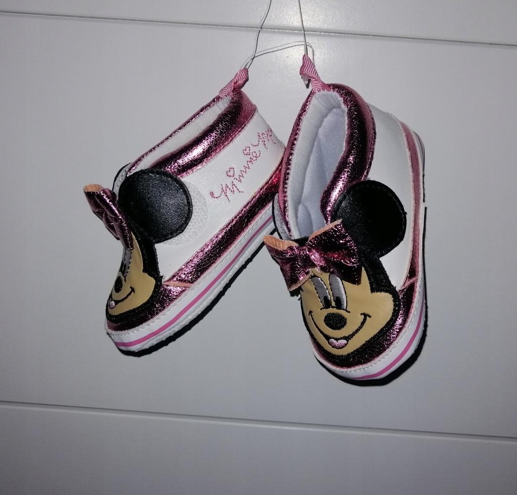 Buciki Mini roz 18