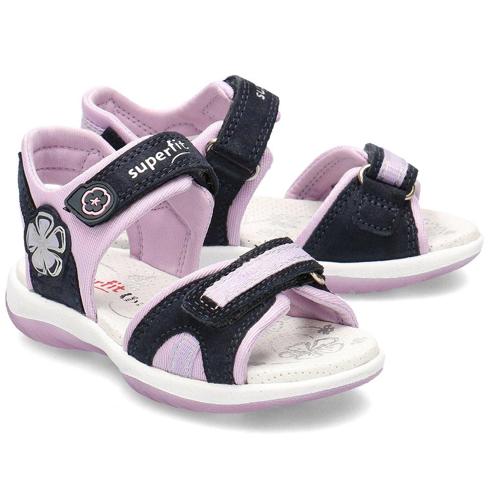 Superfit Różowe Sandały Dziecięce R.27