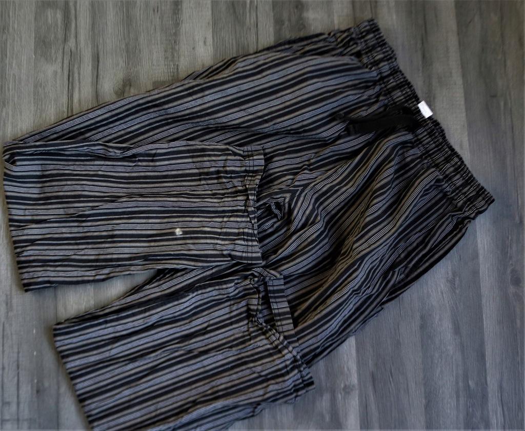 NEXT bawełniane spodnie piżamowe w paski M