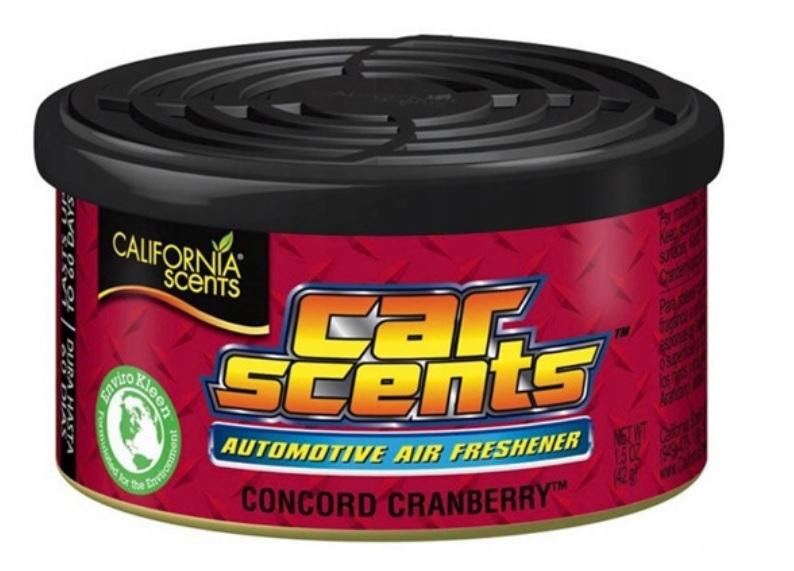ODŚWIEŻACZ SAMOCHODOWY CAR SCENT CRANBERRY