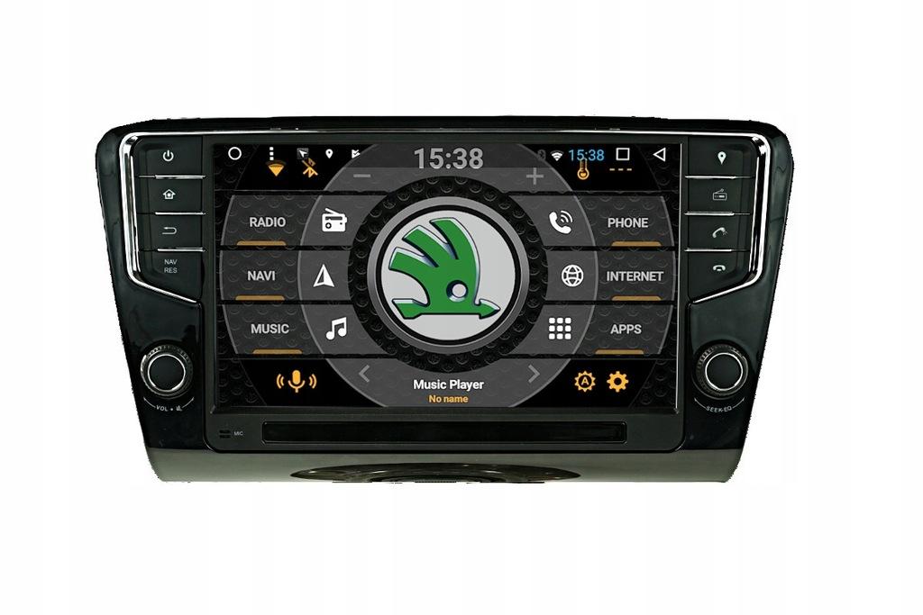 RADIO NAWIGACJA GPS ANDROID SKODA OCTAVIA 16- 16GB