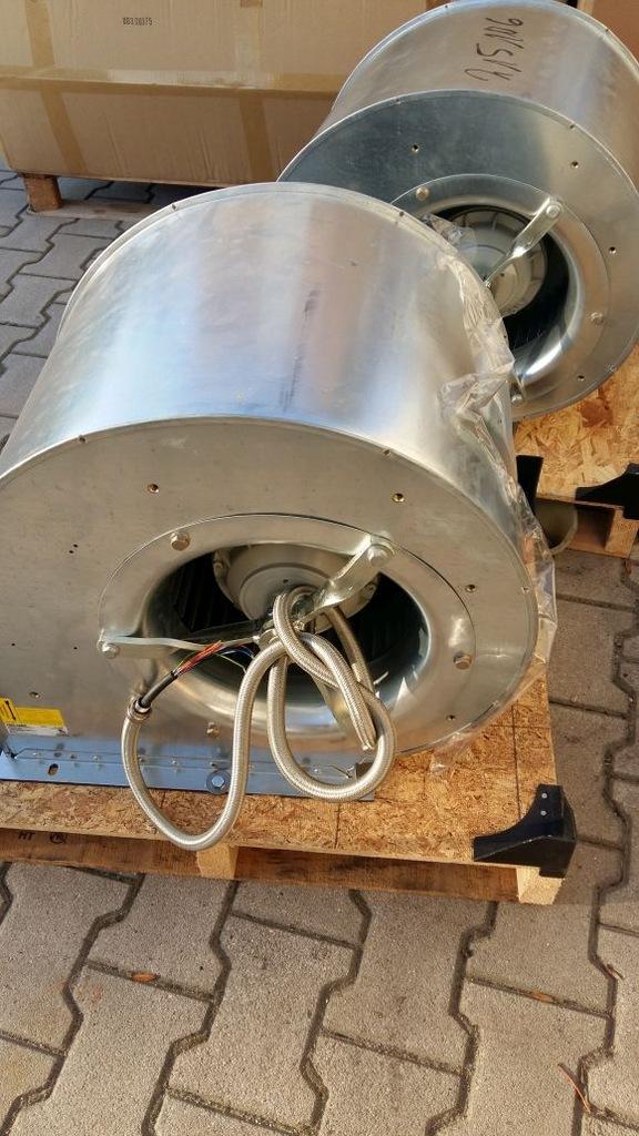 Wentylator promieniowy Ziehl-Abegg RD31P 8000 m3/h