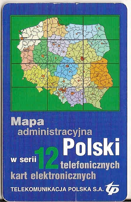 Mapa Polski - do wyboru