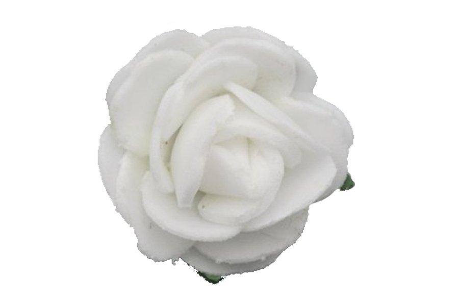 Przypinka komunijna do włosów spinka kwiatek 011