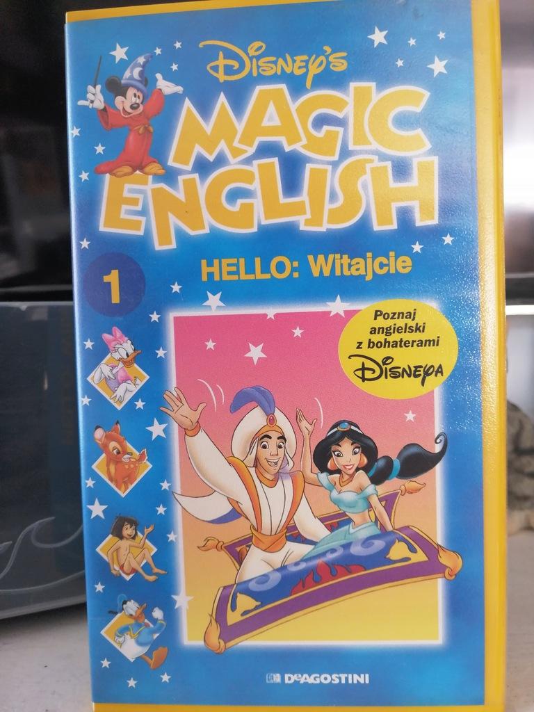 Magic English Hello: Witajcie - VHS