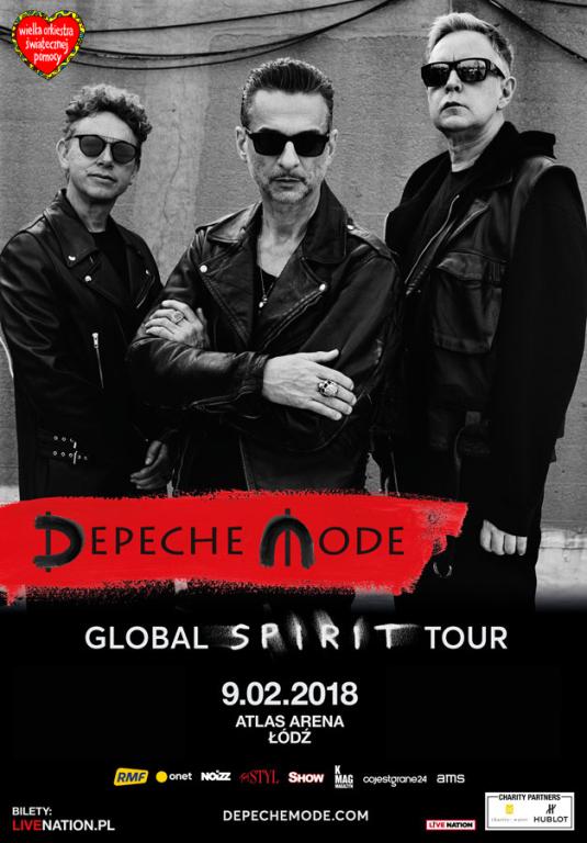 Zaproszenie na koncert Depeche Mode