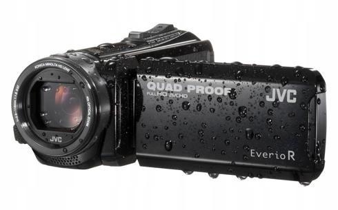 JVC Kamera GZR-445BEU czarna
