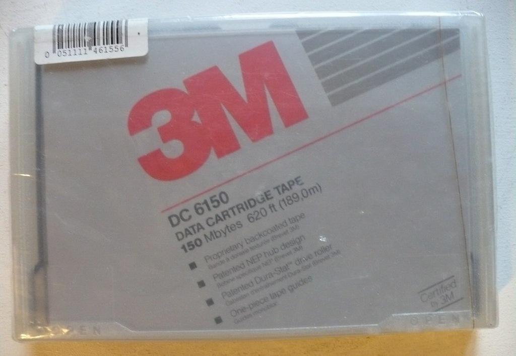 3M DC 6150 Data Cartridge Tape Kaseta