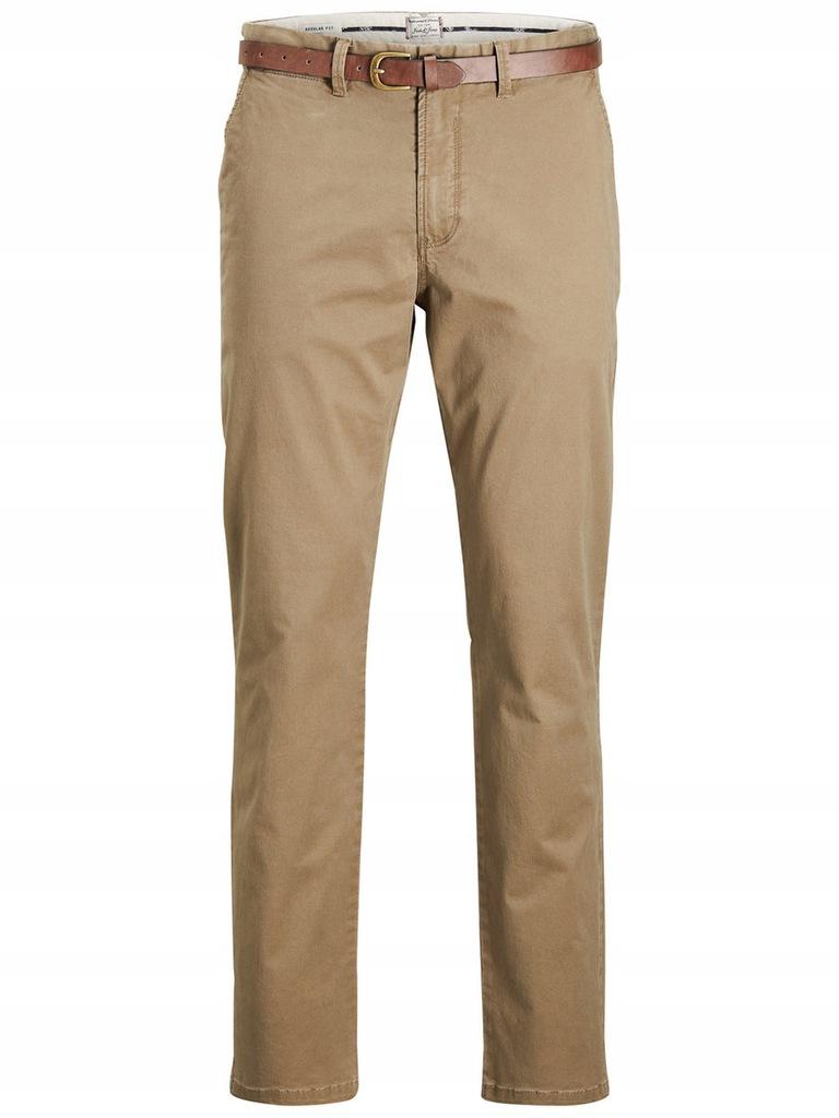 JACK&JONES spodnie chino 12125511-BEi. 31/34