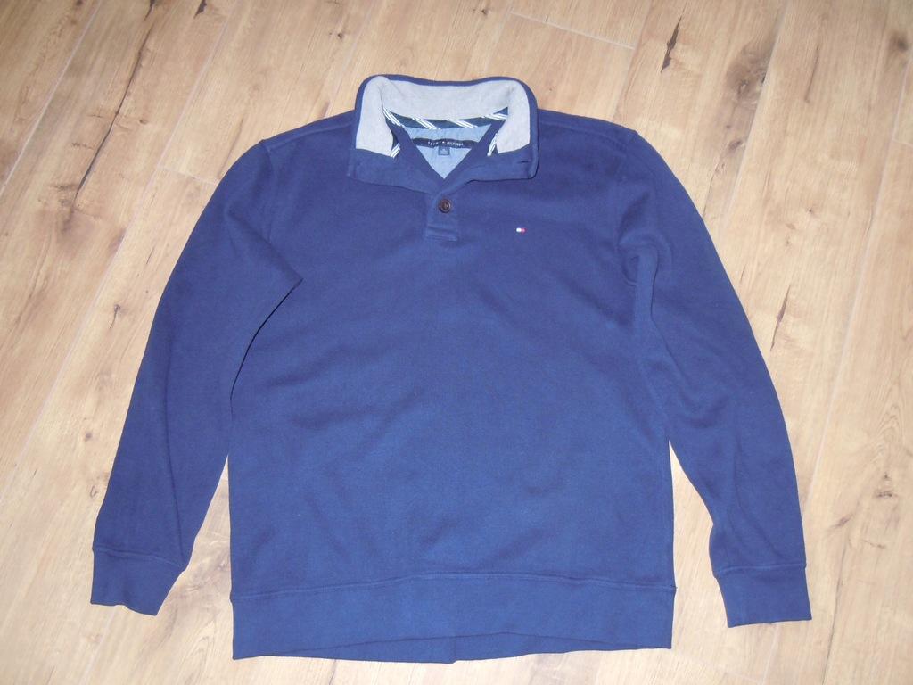 TOMMY HILFIGER świetny sweter r .XL jak BLUZA BDB