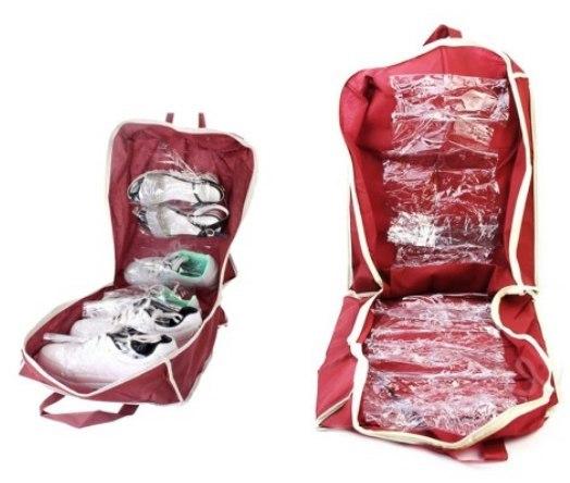 Organizer torba buty 6 par poręczna podróży