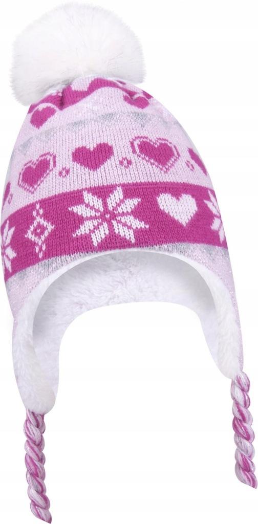 czapka zimowa DZIEWCZYNKA 42-44