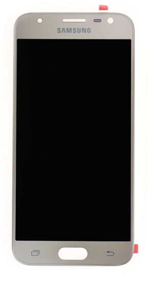 ORG Wyświetlacz LCD Samsung J3 2017 J330f Złoty