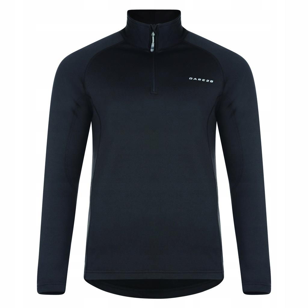 Dare 2B - męska bluzka top ze streczem L Czarny