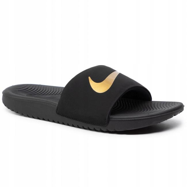 Klapki Nike Kawa Slide 819352 003 37 1/2 Czarne