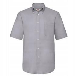 MĘSKA koszulka SHORT OXFORD FRUIT szary L