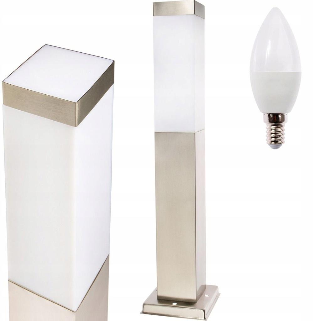 Słupek Lampa Ogrodowa Zewnętrzna LED 45cm +LED 10W