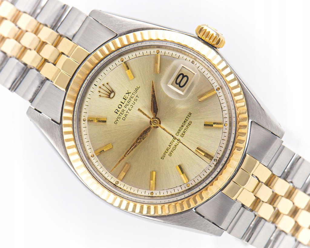 ROLEX OYSTER PERPETUAL DATEJUST 18K/STAL 36MM 1601
