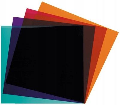 IMG Stage Line LEF-256SET, kolorowe filtry, zestaw