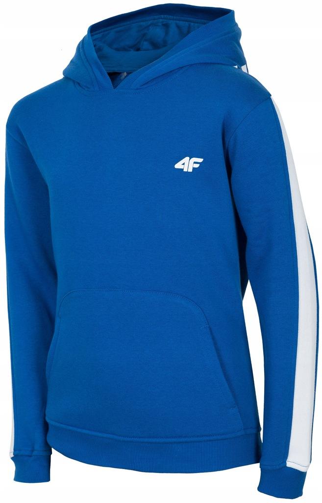 Bluza dziecięca z kapturem 4F junior chłopięca 146 Ceny i