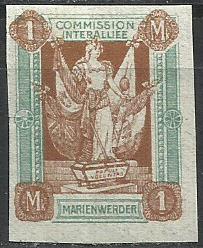 1920 PLEBISCYTY - KWIDZYN Fi 11* nz / gw