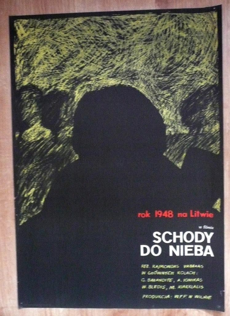"""Plakat filmowy """"Schody do.."""" 1967"""