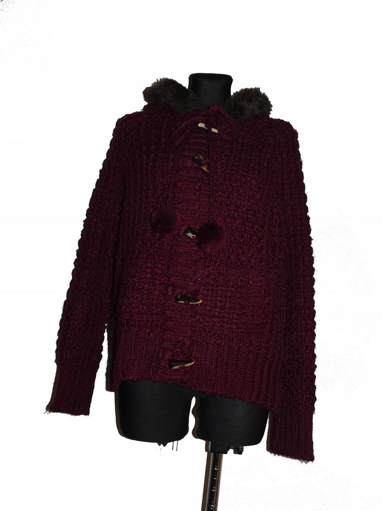 Atmosphere sweter damski z kapturem 44/46 nowy
