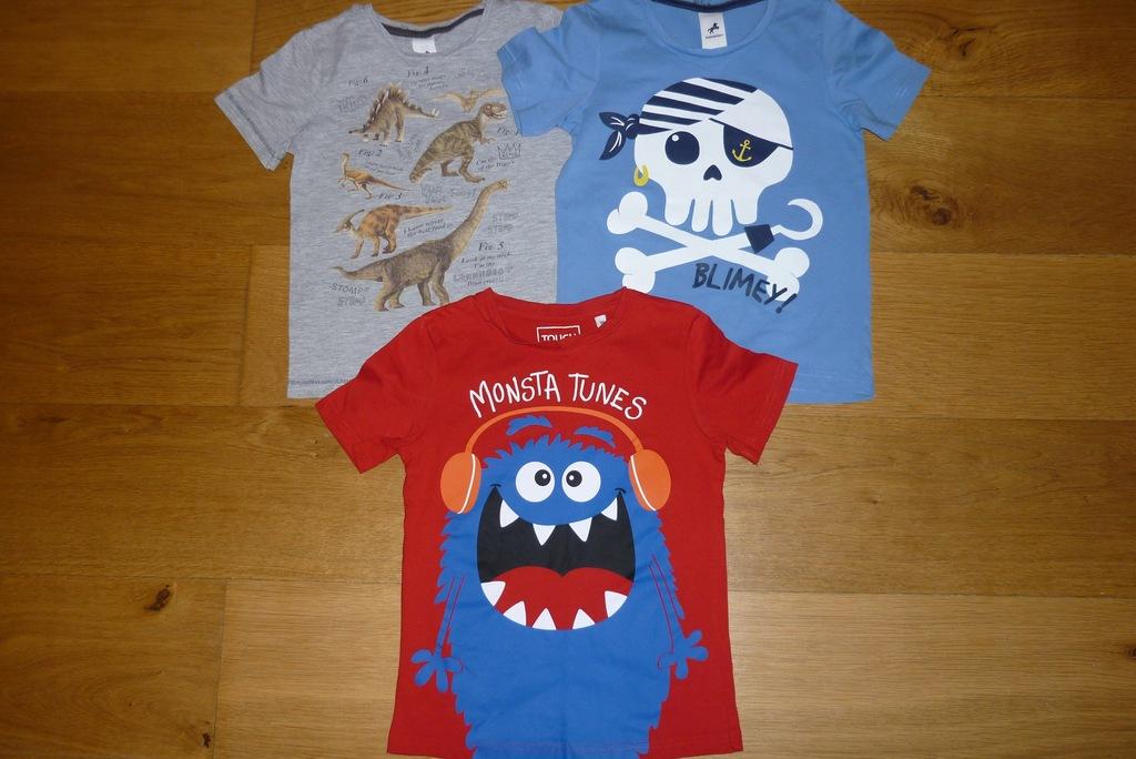 T-shirty koszulki 122 cm