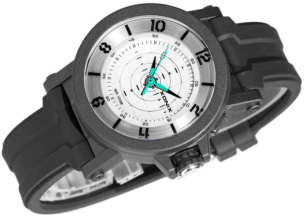 DUŻY Zegarek Taktyczny Dla Chłopca XONIX - WR100m