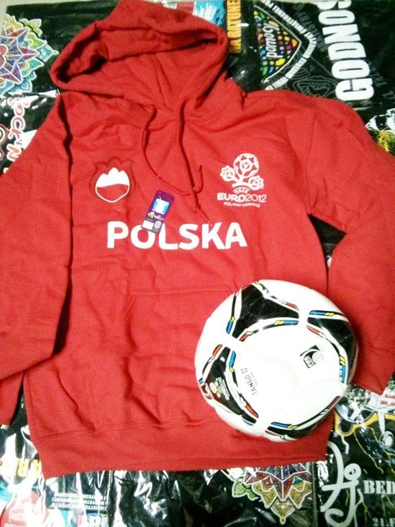 Originalna bluza i koszulka UEFA EURO 2012 Polska