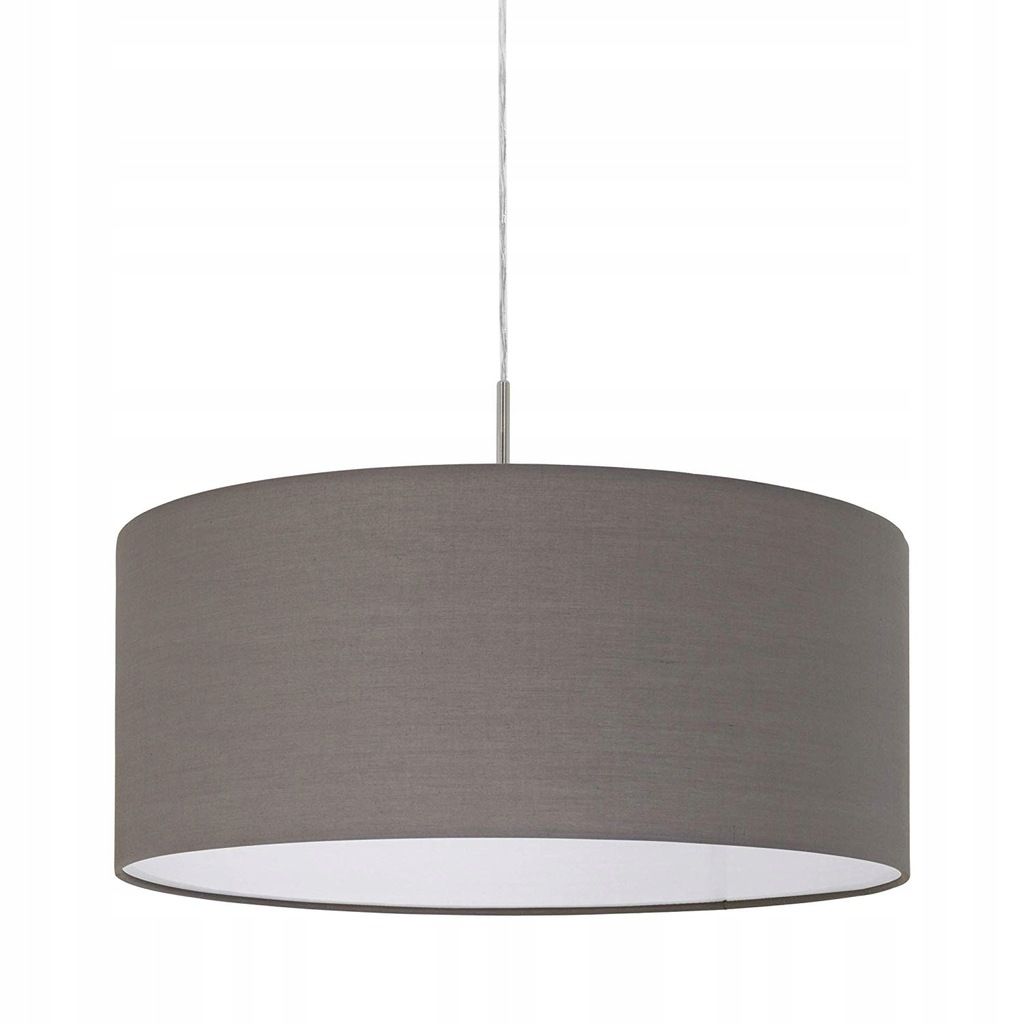 H1793 EGLO LED LAMPA SUFITOWA PASTERI SZARA 53CM