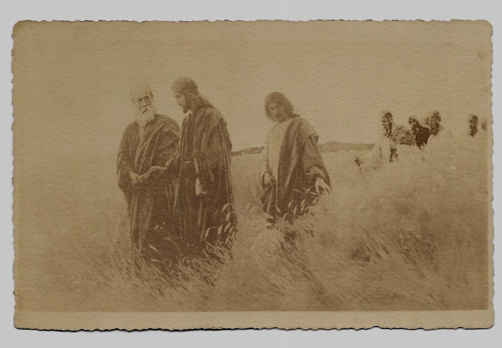 Jezus Święty Piotr uczniowie 1911r. Styka 217F
