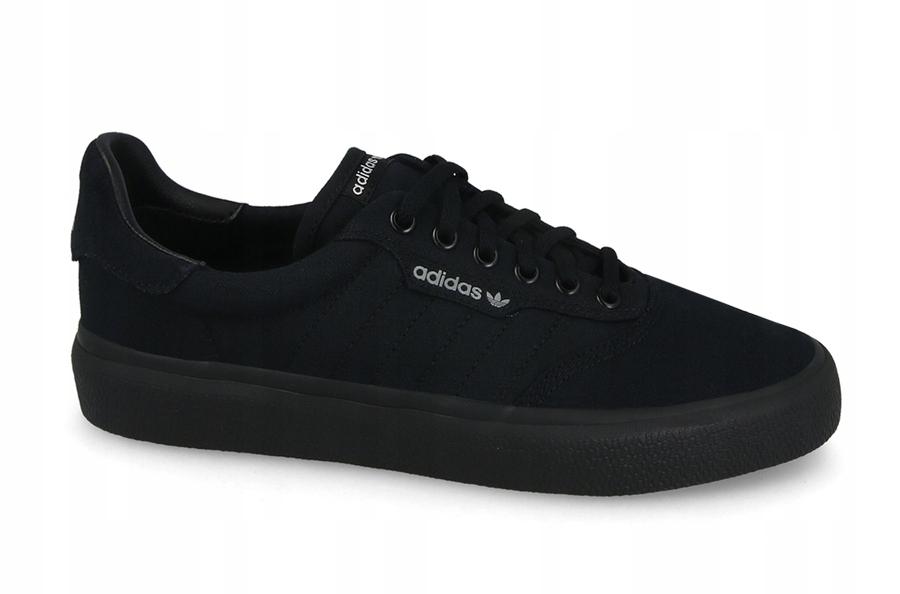 Adidas 3MC Męskie czarne buty skate : Tanie Adidas Buty