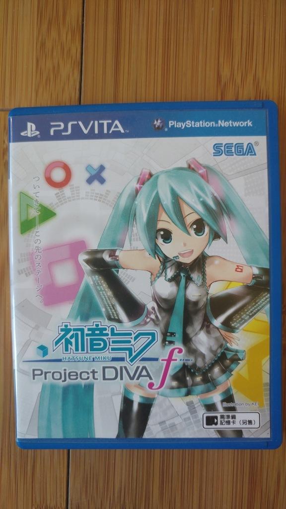Hatsune Miku: Project DIVA F PS Vita