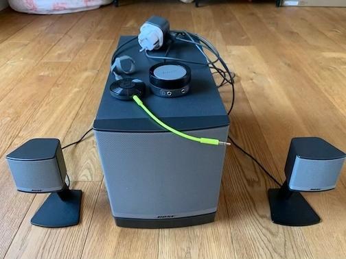 BOSE Companion 3 Series II + Chromecast Audio