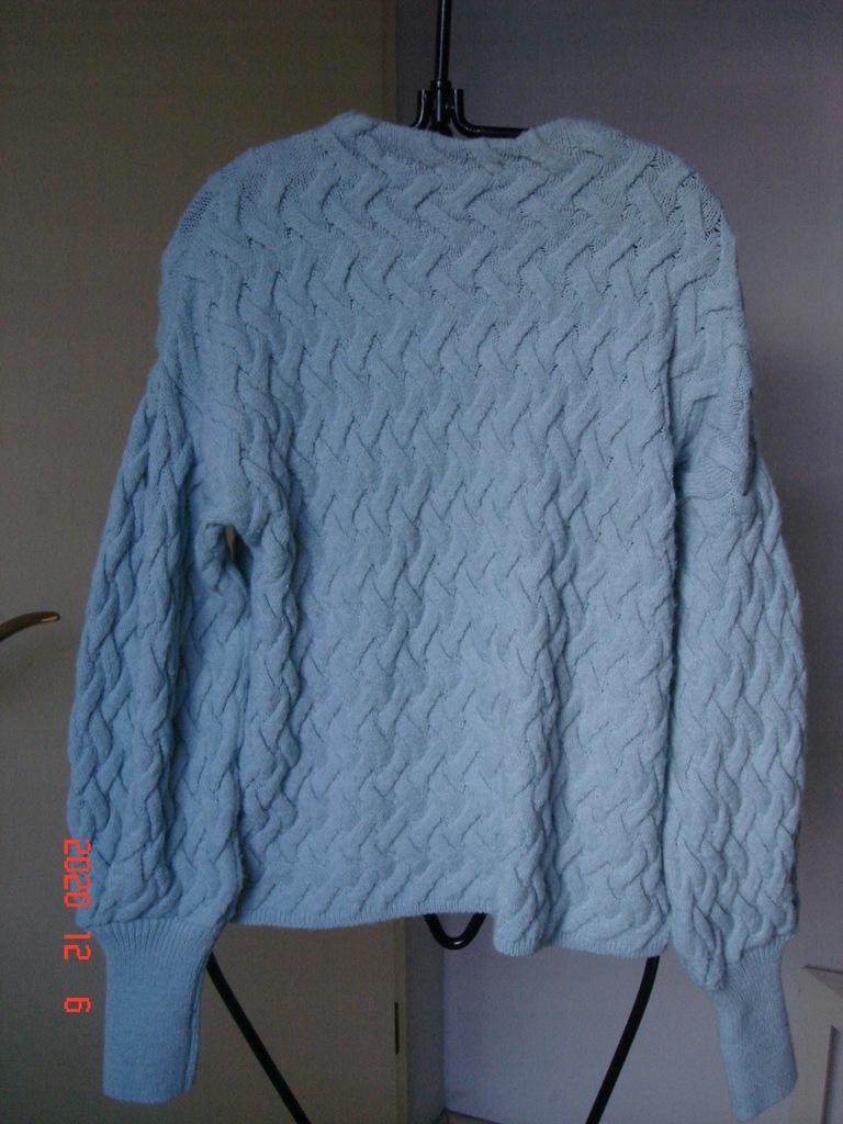 Reserved -sweter damski niebieski, M.