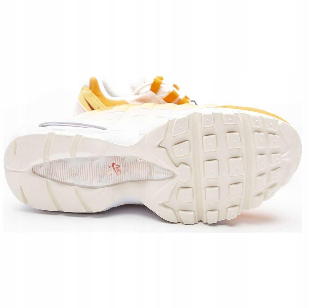 Buty Nike AIR MAX 95 biało żółte sneakersy 201