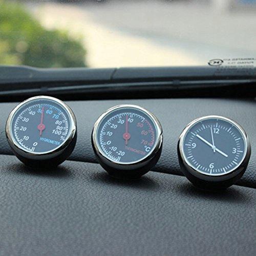 Termometr samochodowy Higrometr Zegar kwarcowy do