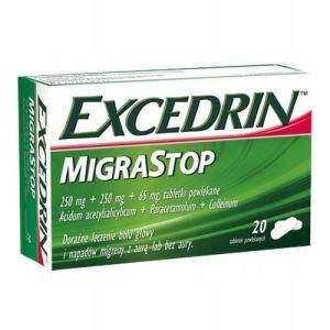 EXCERDIN MIGRASTOP, 20 tabletek
