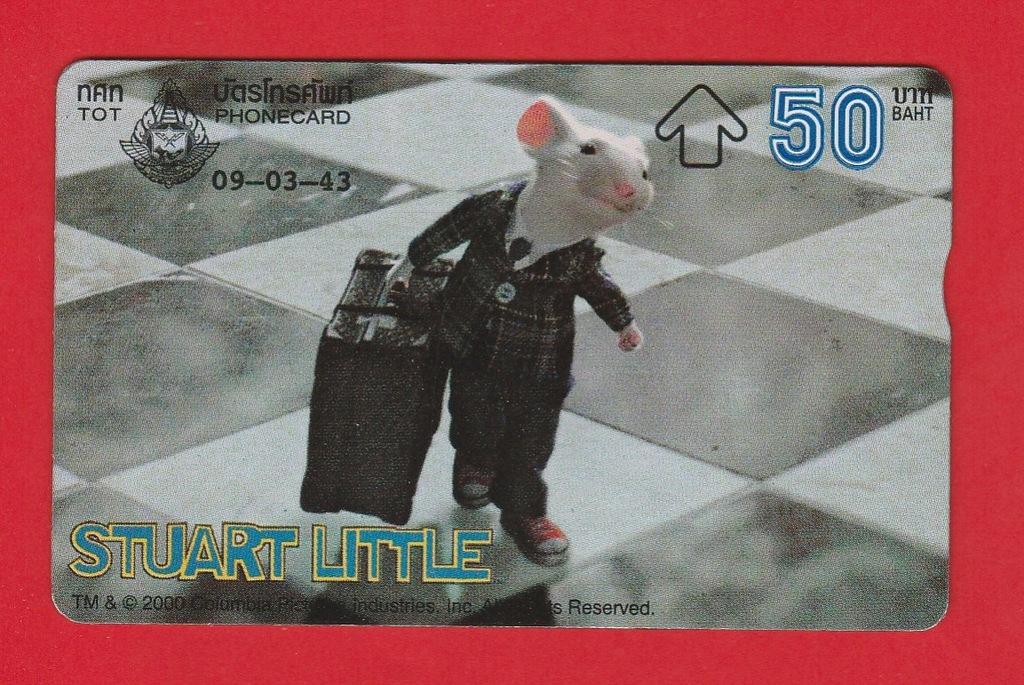 TAJLANDIA fauna szczur Stuart Little / seria 042C