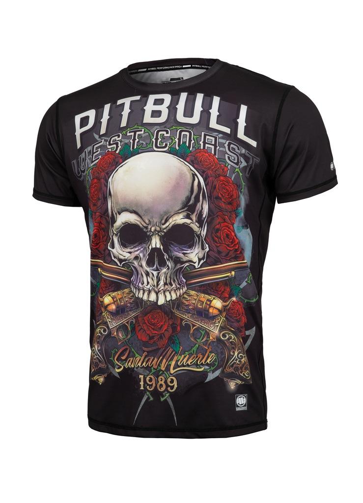 Pit Bull - Rashguard Pro Plus Mesh Santa Muerte M